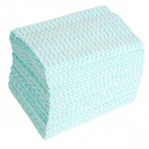 "Disposable Non-Woven Washcloths, 10-3/4"" x 12"", 500/Case"