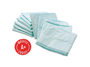 "Disposable Underpads, 23"" x 24"", 100/Bag"