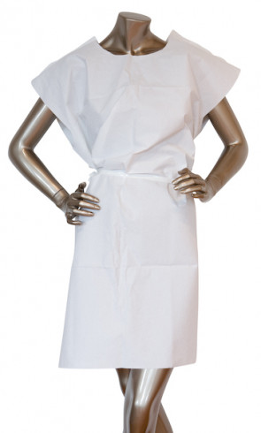 Disposable Paper Examination Gowns, 50/Case