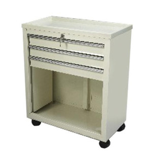 Economy 3-Drawer Treatment/Procedure Cart - Beige