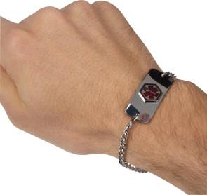 Diabetic ID Bracelet