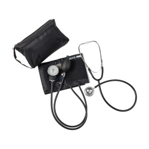 Match Mates Dual Head Stethoscope Combination Kit, Black