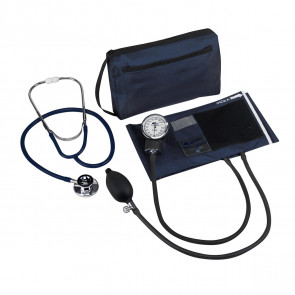 Match Mates Dual Head Stethoscope Combination Kit, Navy