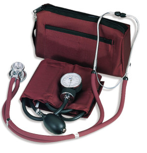 Match Mates Stethoscope Combination Kit, Burgundy