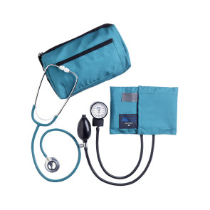 Match Mates Dual Head Stethoscope Combination Kit, Teal