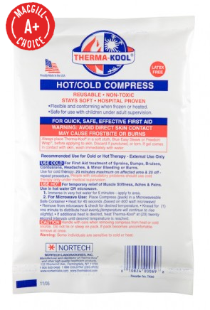 "Reusable Therma-Kool 6"" x 9"" Cold/Hot Pack"