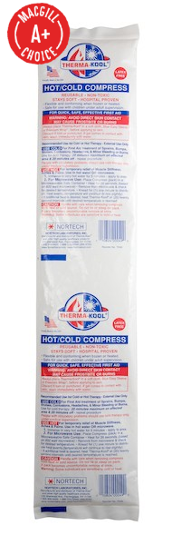 "Reusable Therma-Kool Cervical Hot/Cold Pack (18"" x 3.5"")"