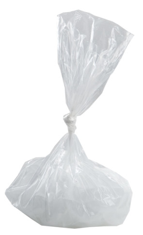 "Economy Ice Bags, 8"" x 4"" x 18"", Non-Zipper, .7 ml (100/Bx)"