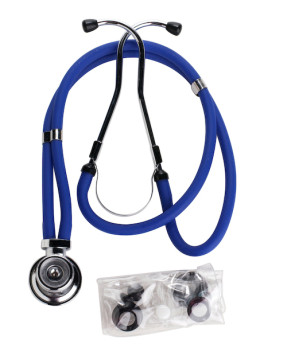 Dark Blue Sprague Rappaport-Type Stethoscope
