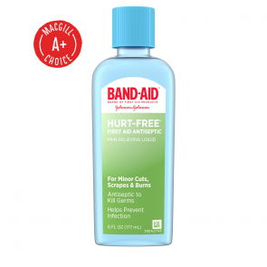 J&J Band-Aid® Hurt-Free™ Antiseptic Wash 6 Oz.