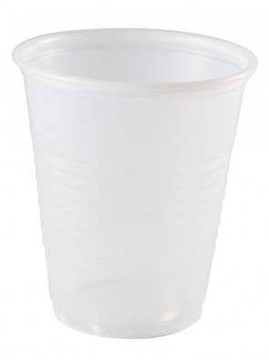 Clear Crosstex 5 Oz Plastic Cups, 100/Tube
