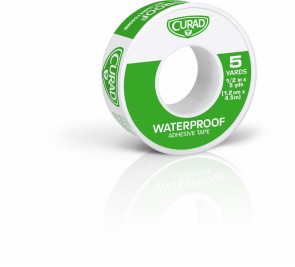 "Curad® Waterproof Tape, 1/2"" x 5 Yards, 1 Roll"