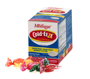 Cold-EEZE® Zinc Lozenges, 25/Box