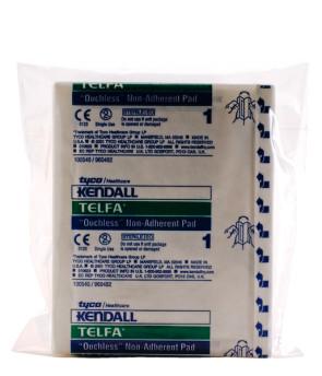 """Kendall Sterile 3"""" x 4"""" Telfa Pads, 10/Bag"""
