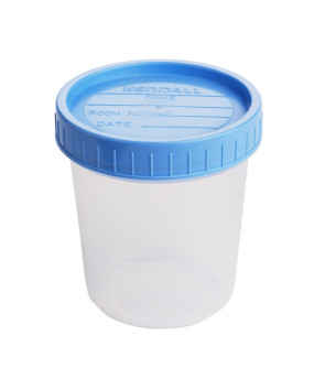 Specimen Containers with Lids, 4 oz., Non-Sterile, 20/Bag