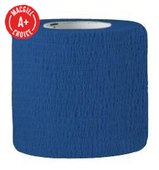 "2"" x 5 Yds Latex-Free Economy Self Adherent Wrap, Blue"
