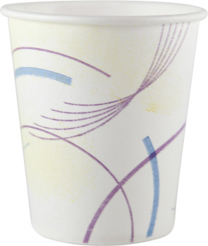 Solo® 5 Oz Flat Bottom Paper Cups, 100/Tube