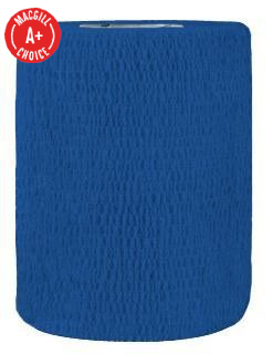 "3"" x 5 Yds Latex-Free Economy Self Adherent Wrap, Blue"