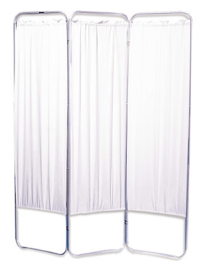 Presco Standard Size 3 Panel Screen with Casters