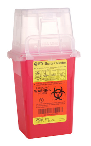 1.5 Quart Infectious Waste Collector