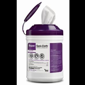 PDI Super Sani Cloth® Germicidal Wipes, 12 cans per case