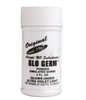 Glo Germ™ White Powder 4 oz