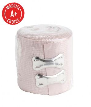 "Economy 2"" x 5 Yds Elastic Bandage with Clips"