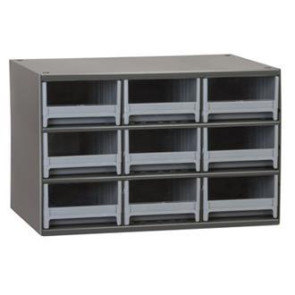 9-Drawer Modular Cabinet without Door