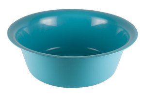 Solution Bowl, 7 Quart, Polypropylene Hospital Blue Ware