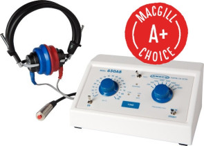 Ambco Model 650 Pure Tone Audiometer, AC & Battery Operated
