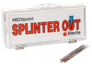 Splinter Out, Sterile, 20/Pkg