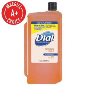 Dial® Liquid Soap 1 Liter Cartridge for Dispenser