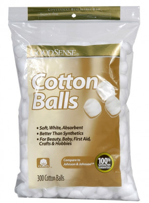Non-Sterile Cotton Balls, 300/Bag