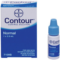Ascensia® Contour® Normal Control Solution, 2.5 ml Vial