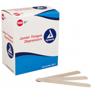 Junior Tongue Depressors (500/Box)