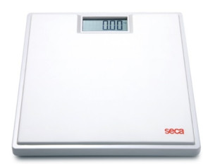 Seca Digital Floor Scale, White