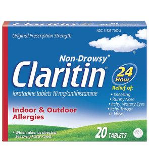 Claritin® 24 Hour Allergy, 20/Box