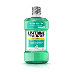 Listerine® Mouthwash, Fresh Burst, 8.5 Oz Bottle