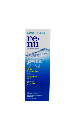 Renu® Advanced Formula Contact Solution, 4 Oz Bottle