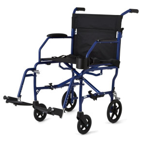 Ultralight Premium Transport Chair, Blue