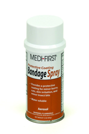 Bandage Spray, 3 Oz Aerosol Can