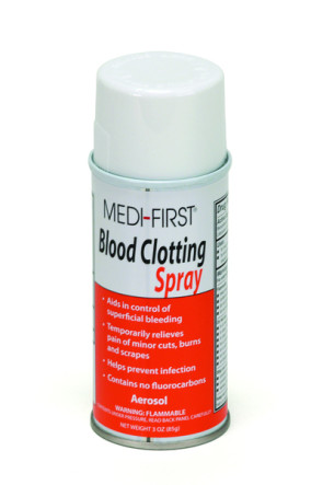 Blood Clotting Spray, 3 Oz Aerosol Can