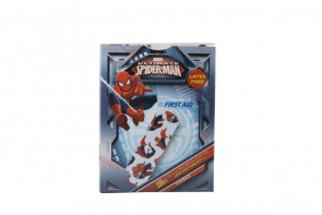 "Spider Man Bandage Strips, 3/4"" x 3"", 100/Box"