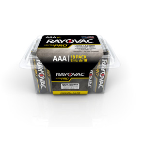 "Rayovac® ""AAA"" Alkaline Batteries, 18/Pack"