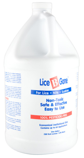 Lice B Gone™ Lice Shampoo, Gallon Bottle