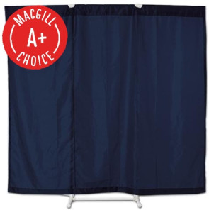 Port-A-Wall® Portable Room Divider, Blue