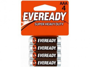 "Economy ""AAA"" Alkaline Batteries, 4/Pack"