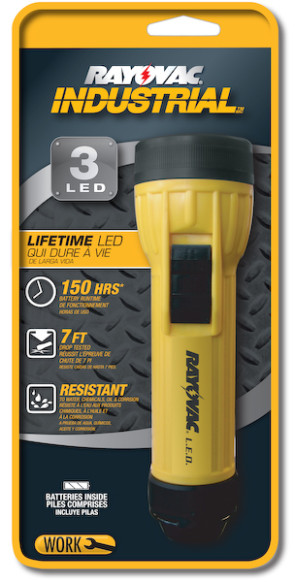Rayovac® Industrial LED Flashlight