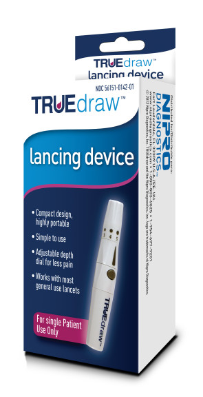 True Track Lancing Device