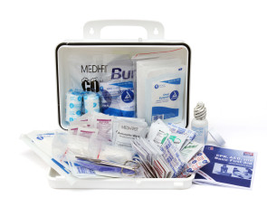 Complete 25-Person Plastic First Aid Kit